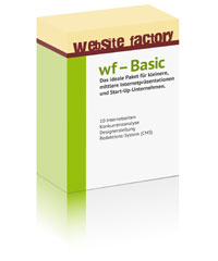 wf - Basic - Website Factory - Hannover .:. Die Internet und Webdesign Agentur Website Factory aus Hannover bietet Ihnen ein erstklassiges Screendesign - Web Design und perfekte Suchmaschinenoptimierung